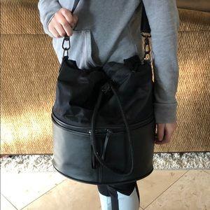 Lululemon black gym bag